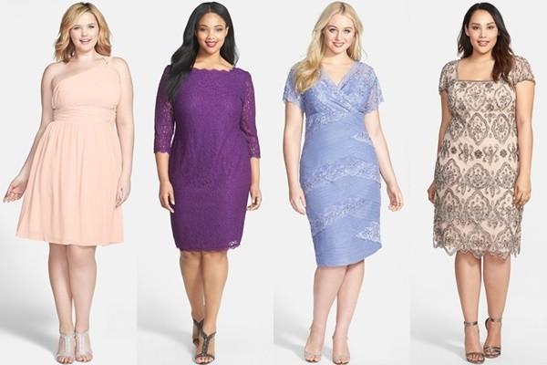 Выбирать платья нужно по типу кроя