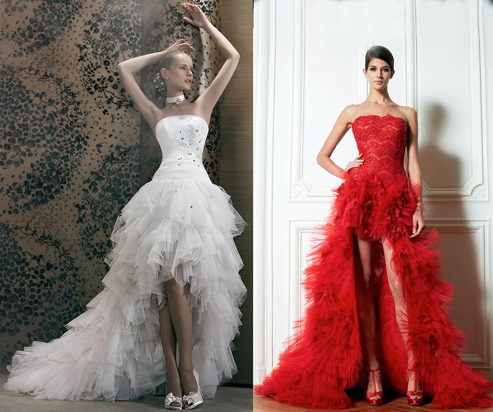 Выбор цвета платья