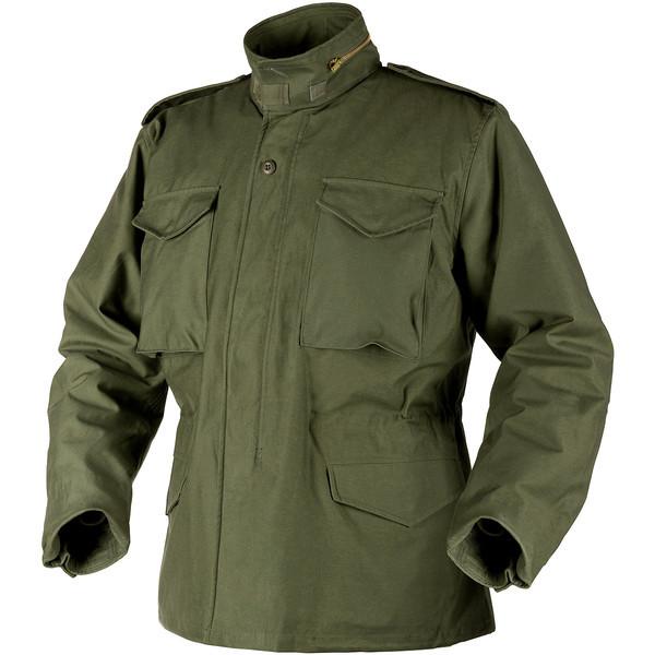 Выбор зеленой куртки