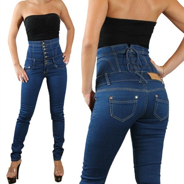 Высокая талия джинсов