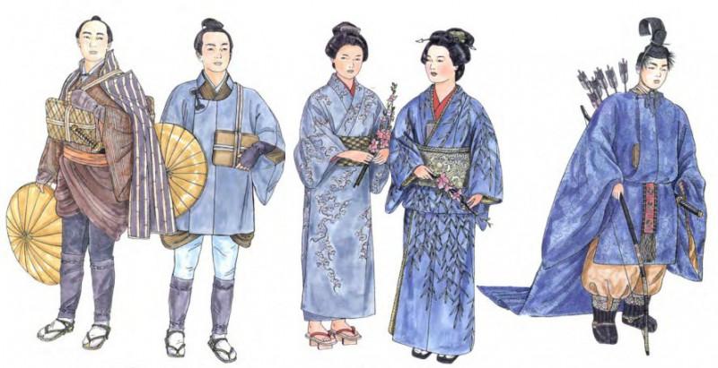 Японская национальная одежда