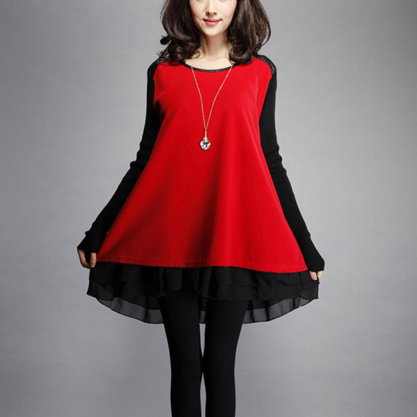 Яркий оттенок одежды