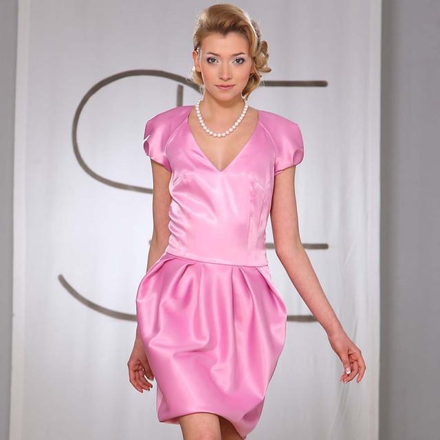 Яркий розовый цвет