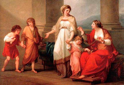 Женская и мужская одежда в Древнем Риме