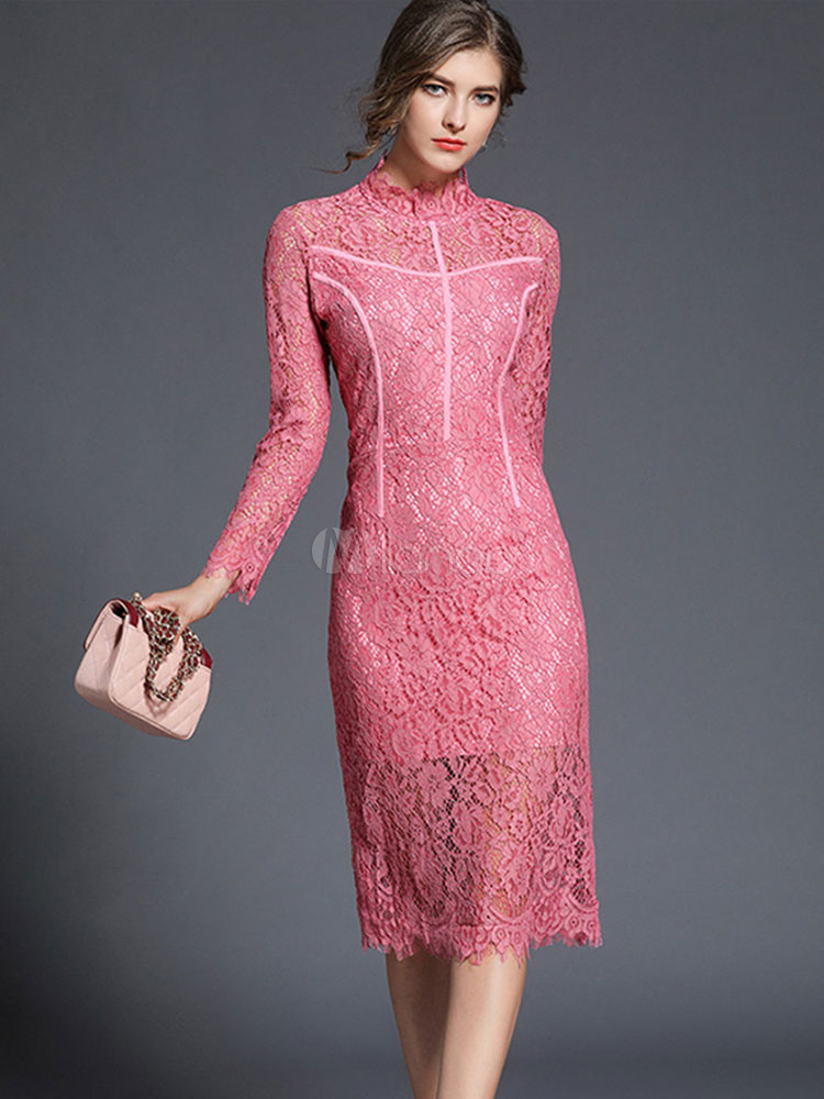 Женские кружевные платья