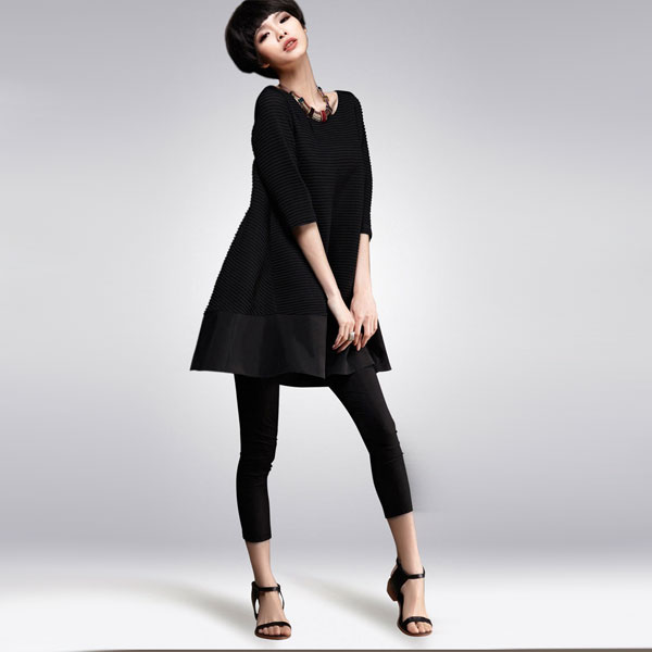 Женственный черный цвет