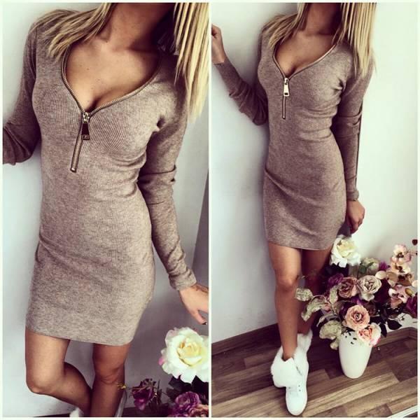 Застежка на платье