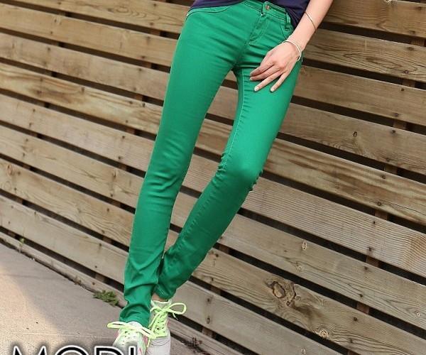 Зеленые скинни