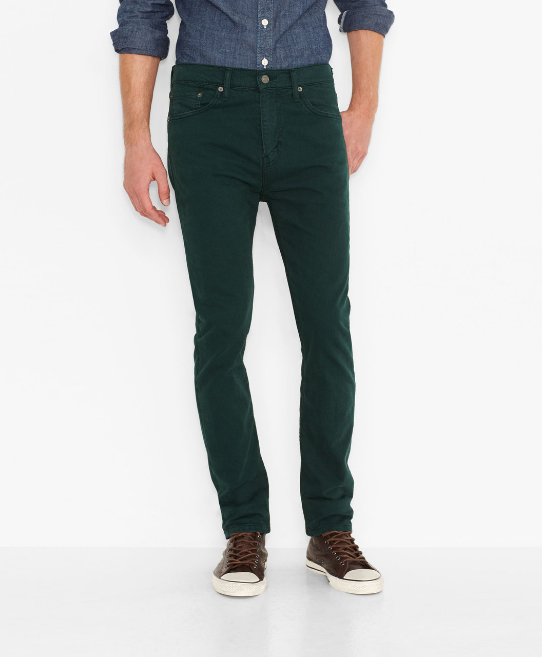 Зеленый цвет одежды