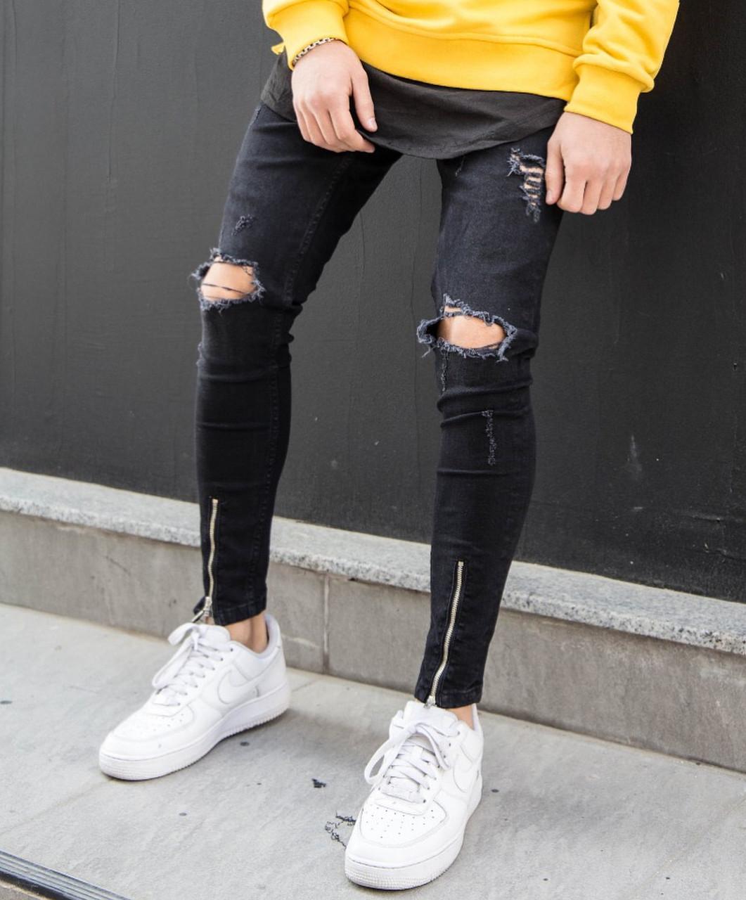 Змейка на джинсах