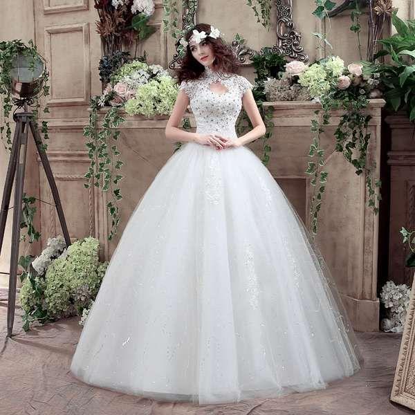 Белое платье для невесты