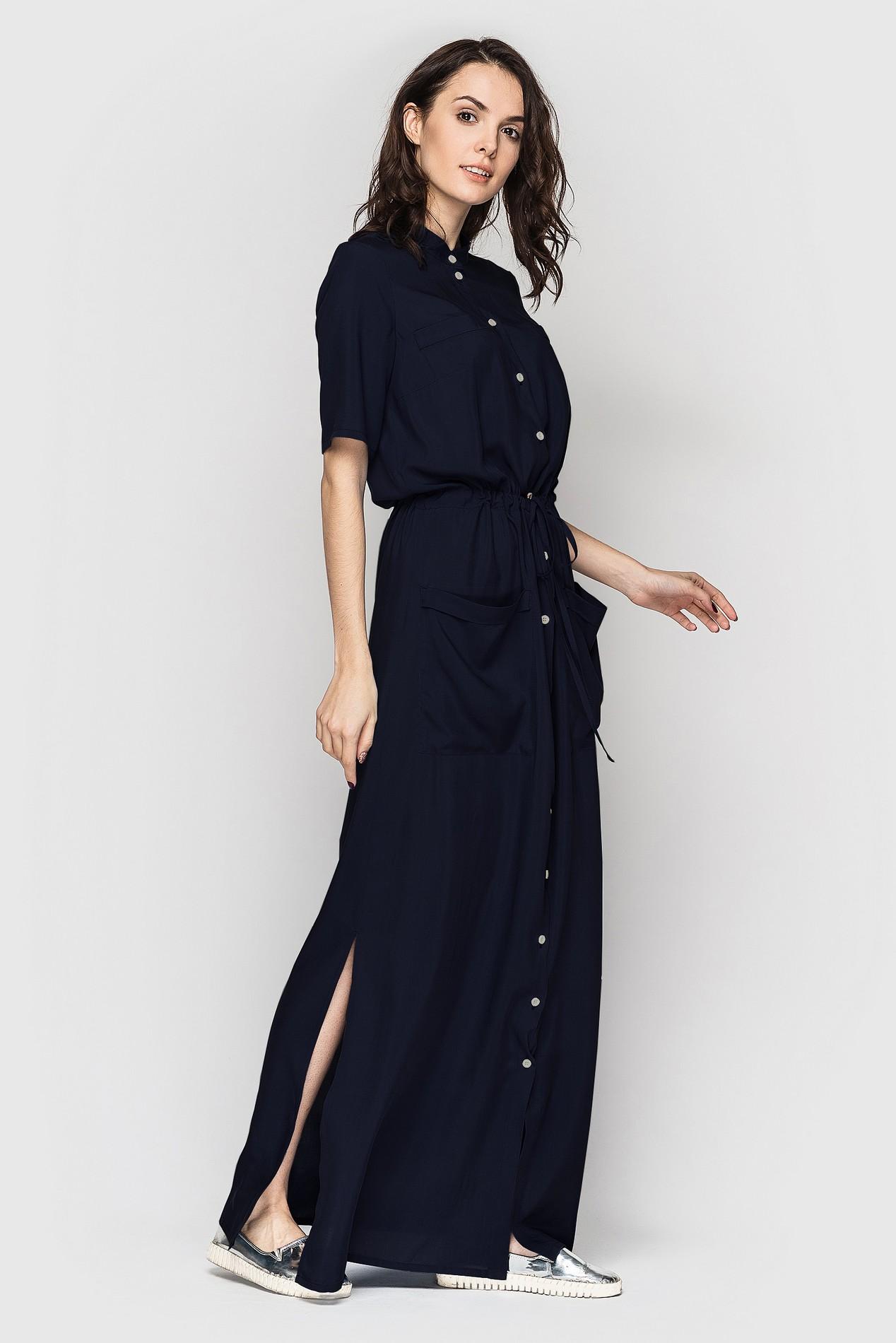 Длина платья макси