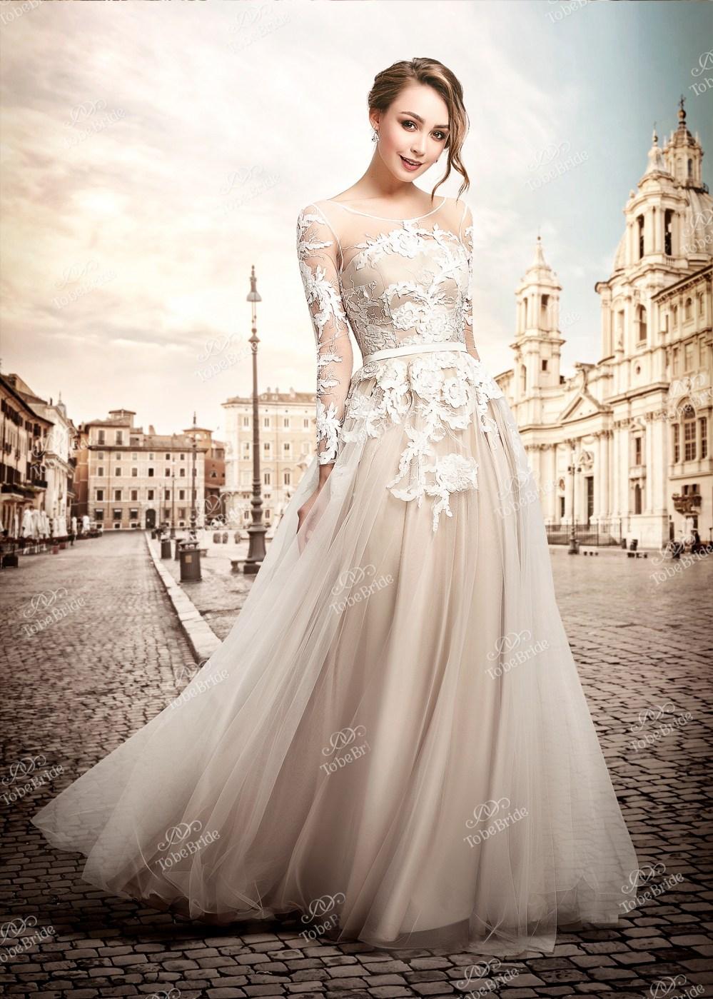 Фасон платья в пол
