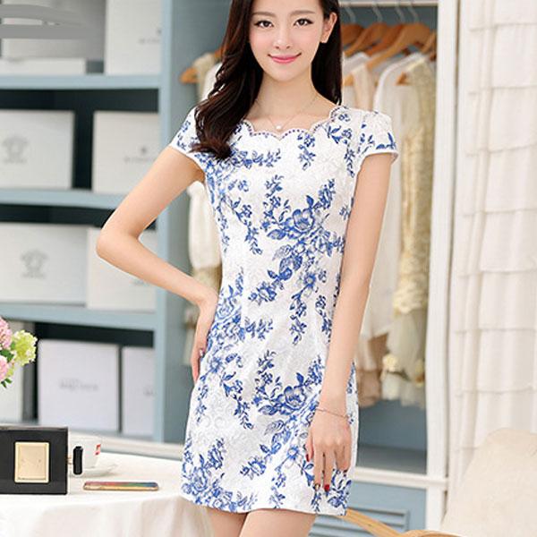 ade13dd0d23d5b Платья из хлопка, какие модели и цвета сейчас в моде, с чем носить