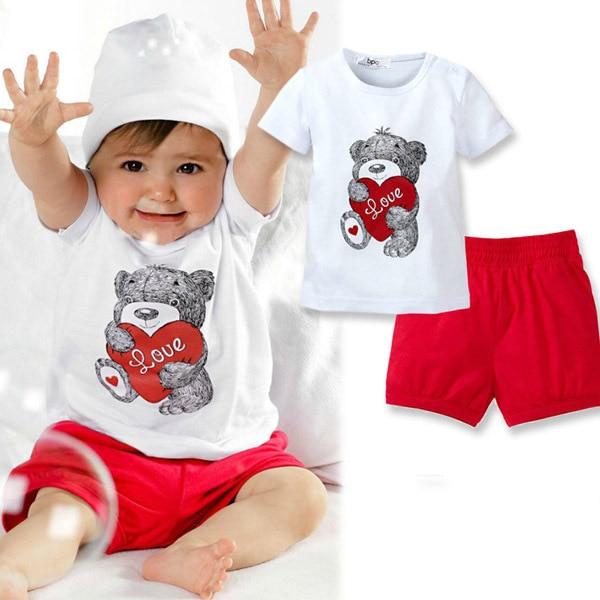Футболка и шорты для ребенка
