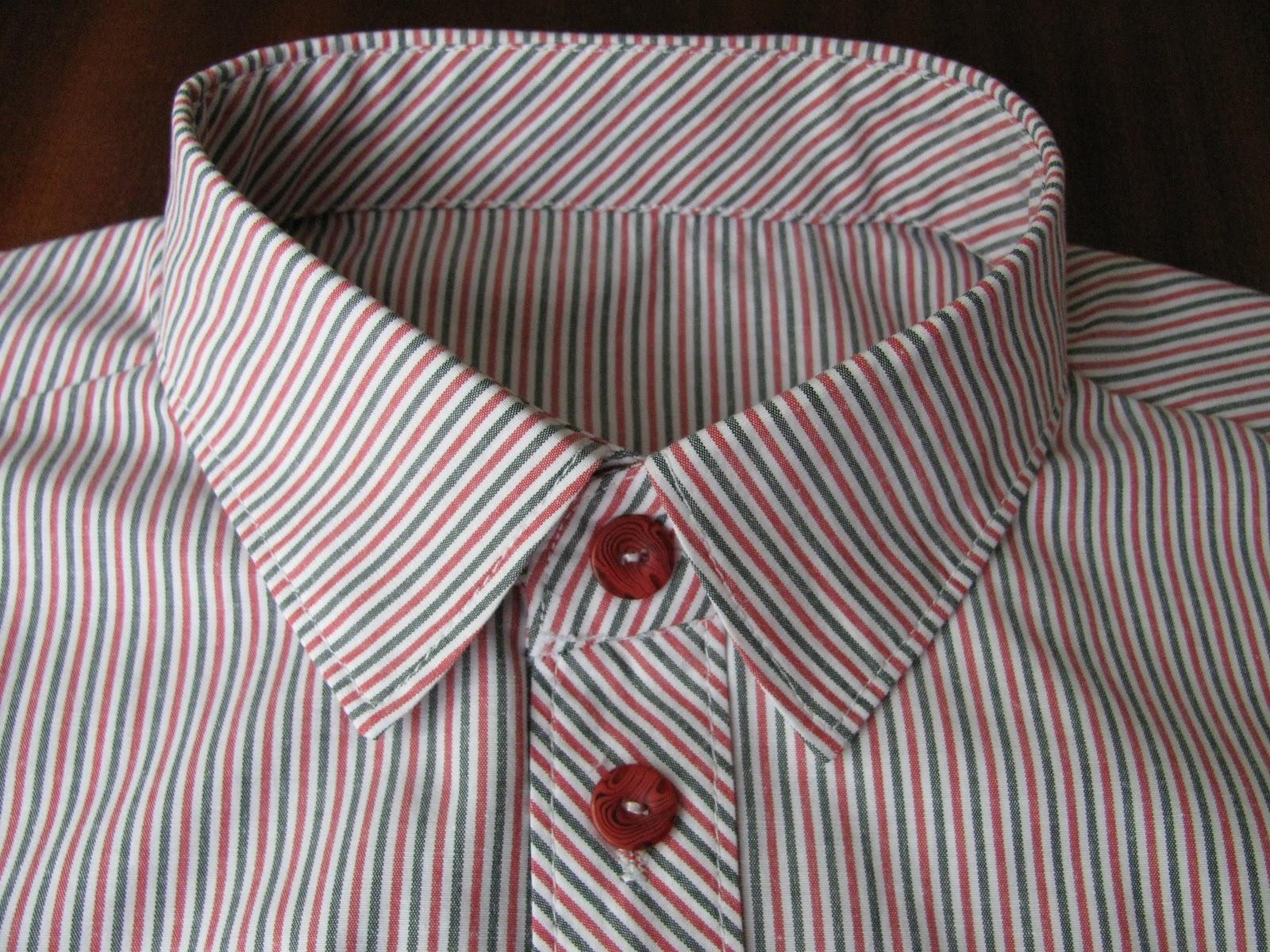 Горизонтальная петля на рубашке