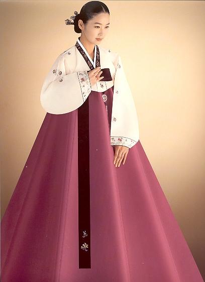 Характерные черты корейского национального костюма