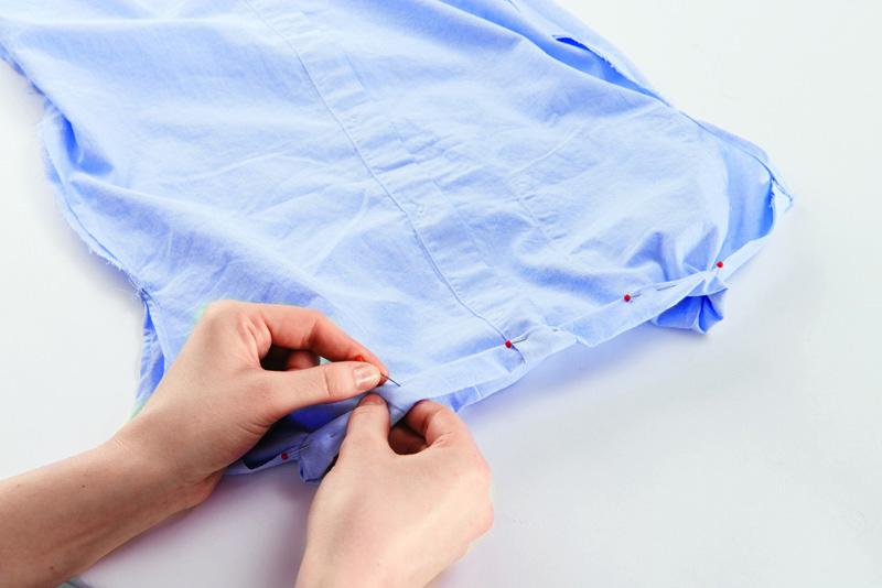 Как сделать горловину платья