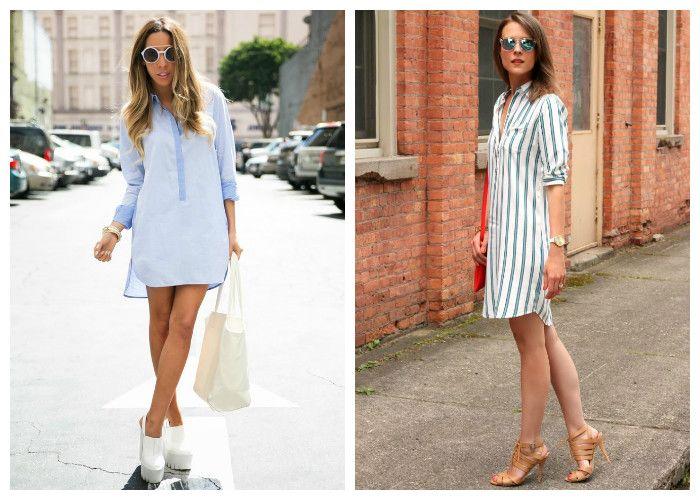 Как выбрать обувь под платье рубашку