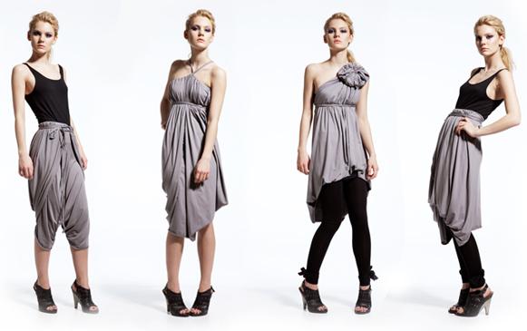 Как завязать платье
