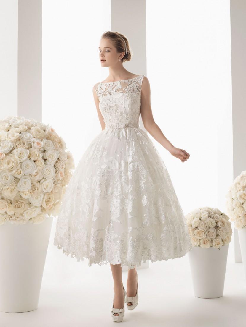 Короткое платье для невесты