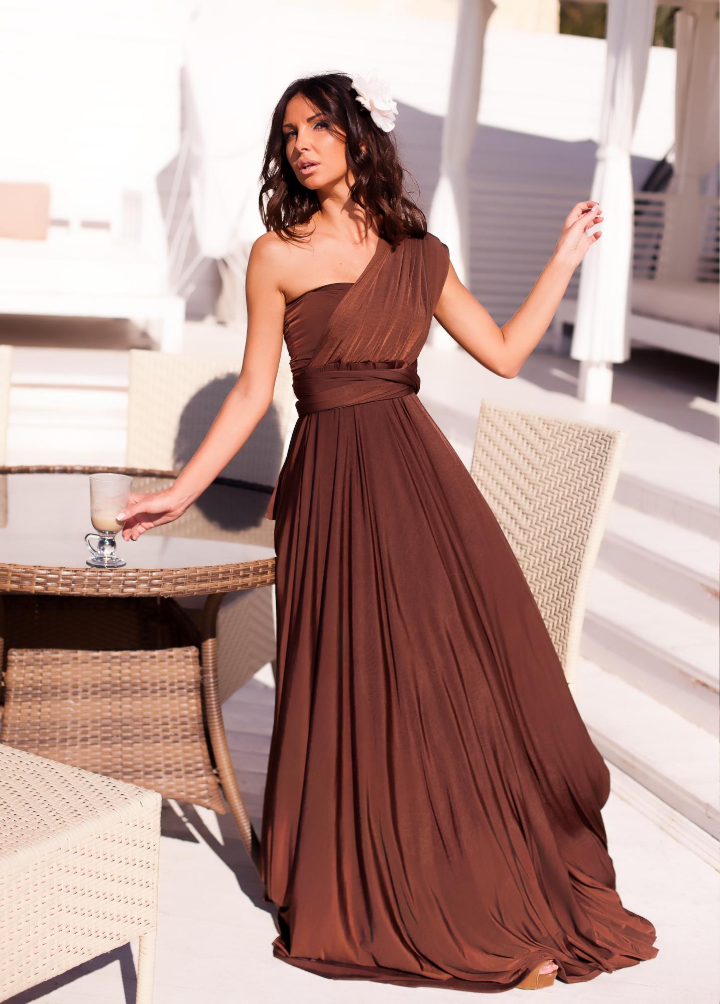 Красивый коричневый