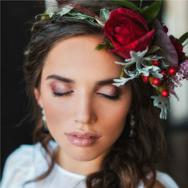 Красивый венок для невесты