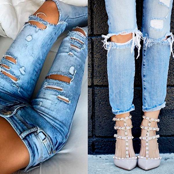 Лучшие образы с джинсами сезона 2018