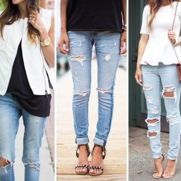 Модные джинсы в 2018