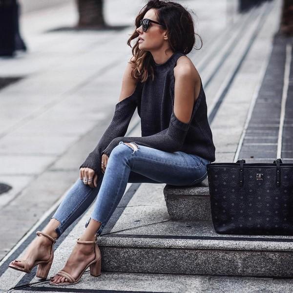 Модные сеты с джинсами 2018
