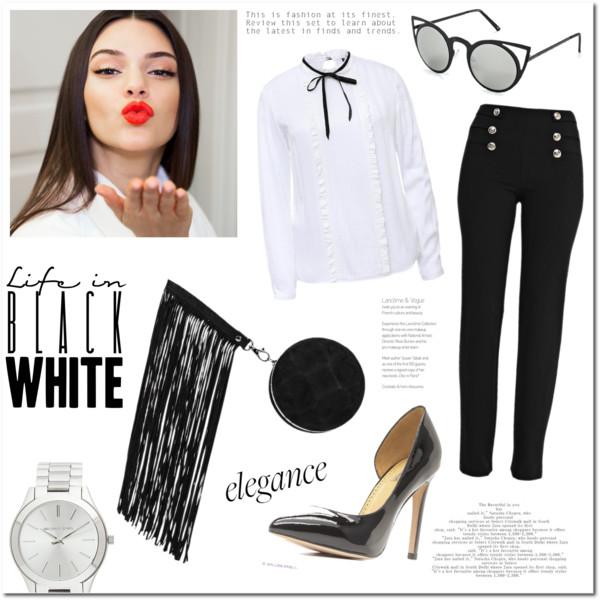 Модный черный цвет