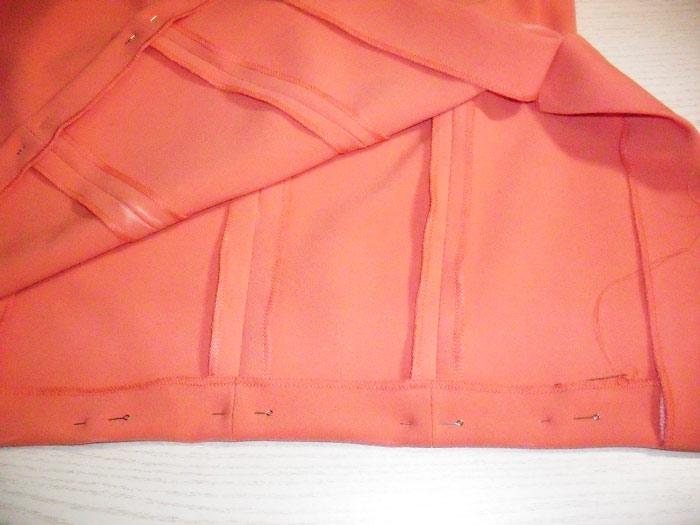 Оформляем платье