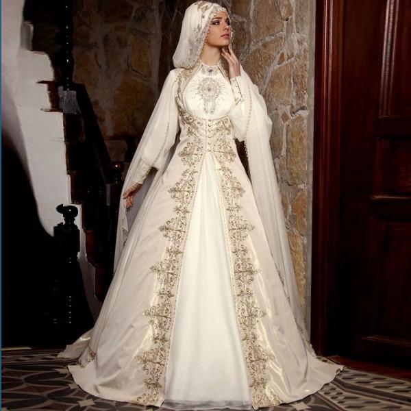 Оригинальное платье невесты