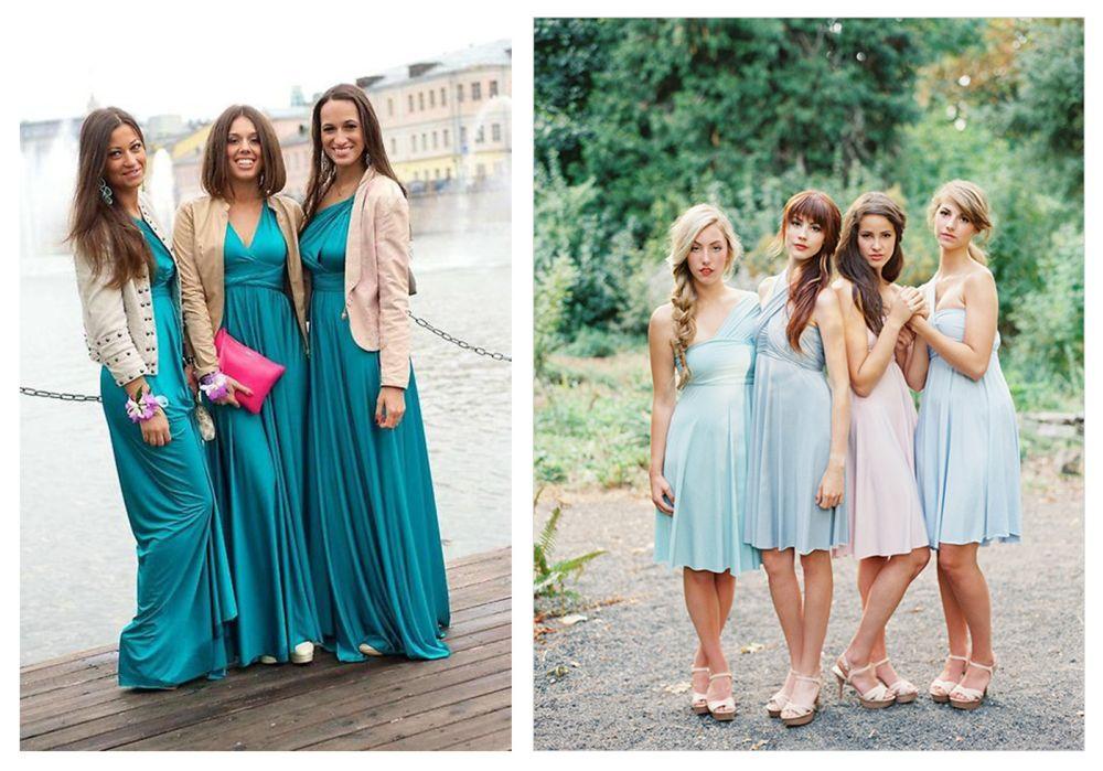 Отличия платьев
