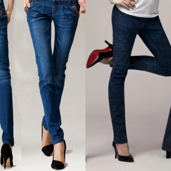 Оттенки джинсов для девушки