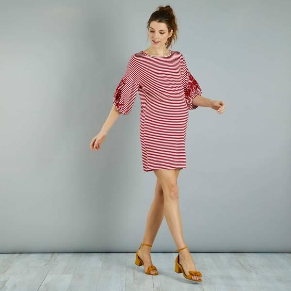 Платье-футболка для беременных