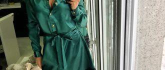 Платье-халат своими руками
