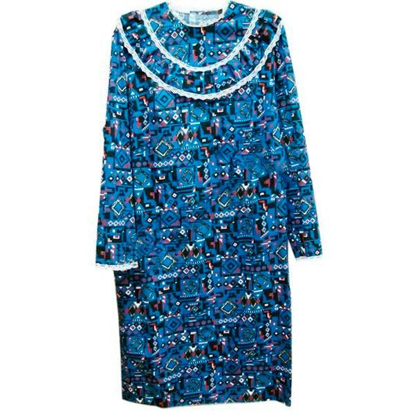 Платье женское из цветного ситца