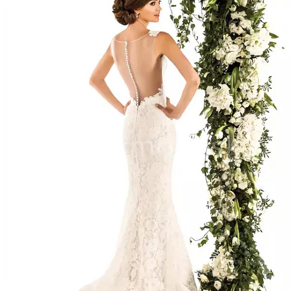 Приятный оттенок платья для свадьбы