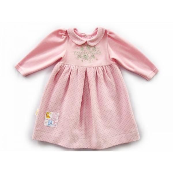 Розовое платьеце