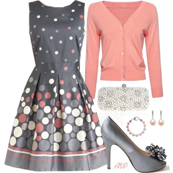 С чем носить платье из ситца