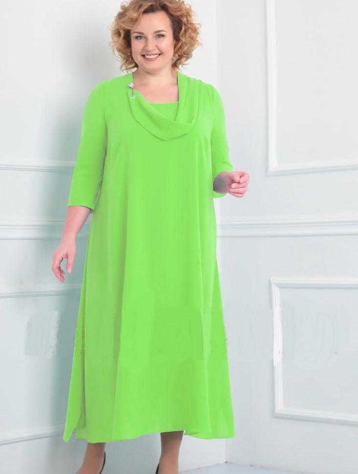 Салатовый цвет одежды