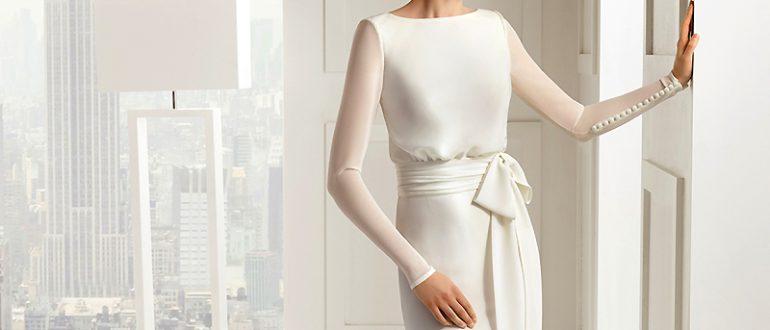 Скромное платье