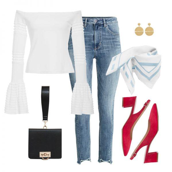 Способы носить облегающие джинсы