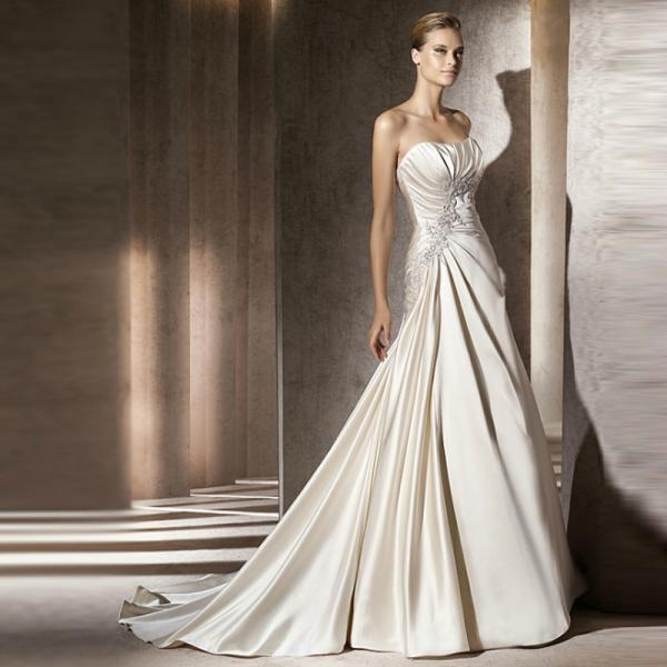 Свадебное платье-рыбка