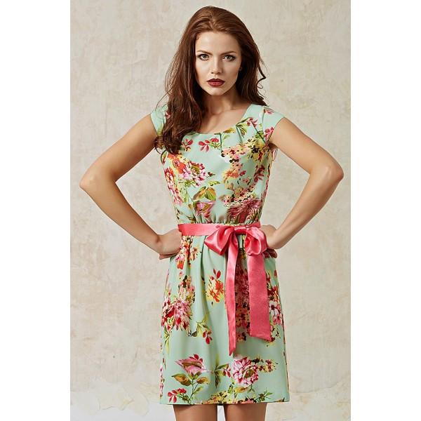 Цветочный принт одежды