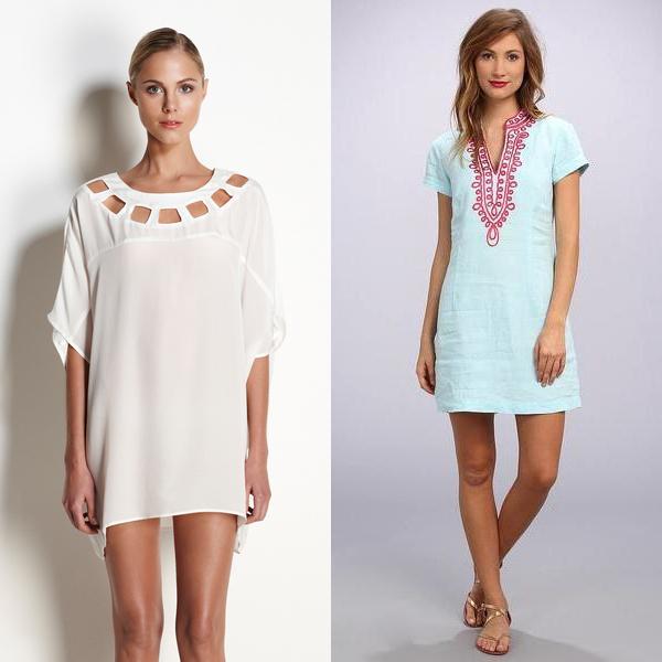 cc89ac4ea040e9 Популярной моделью для лета является ситцевое платье, дополненное  аксессуарами. Материал его изготовления кажется некоторым слишком простым.