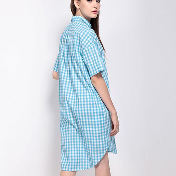 Удлиненное платье
