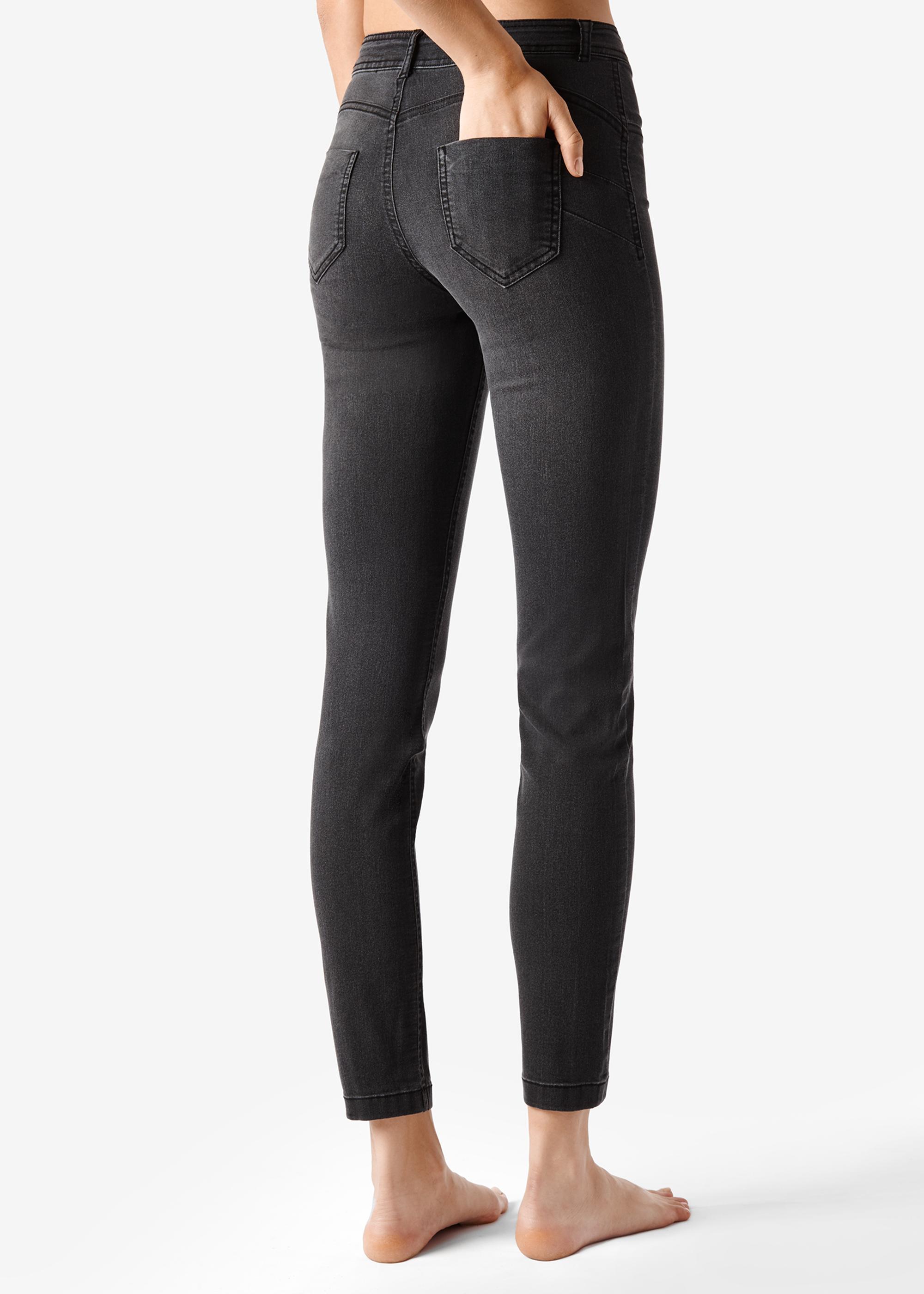 Удобные черные джинсы