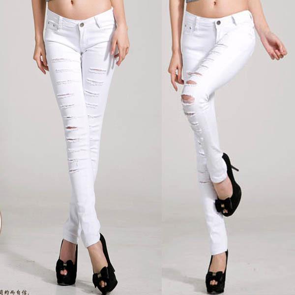 Утягивающие джинсы скинни